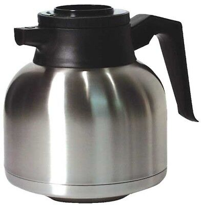 Newco Coffee Vaculator - Thermal Carafe Coffee Pot -1.9 L - Stainless Steel
