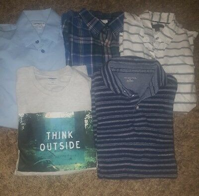 Mens Casual Shirts Size Small Lot of 5