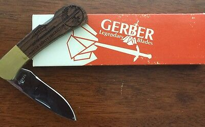 Vintage/Rare Gerber Knife Virginia Game Commision Hunter Safety Instructor.