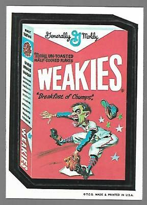 1973 1st Series 1 Topps Wacky Packages WEAKIES White Back Card