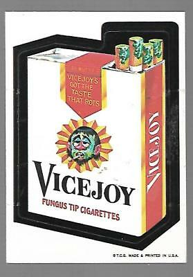 1973 1st Series 1 Topps Wacky Packages VICEJOY White Back Card