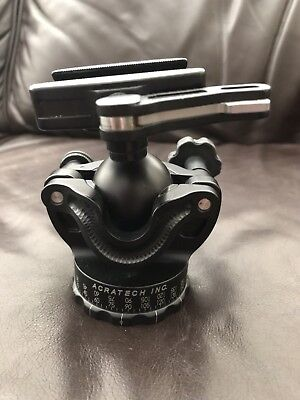 Acratech GP SS Levelling Tripod Head With Lever Lock