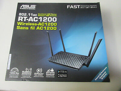ASUS RT-AC1200 Wireless Dual Band Router