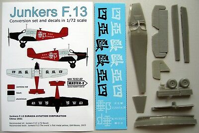 Junkers F.13 Eurasia Aviation Corp. - 1/72 resin conversion Master-X 7222.07