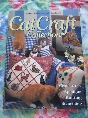 CAT CRAFT COLLECTION BOOK By BETTER HOMES AND GARDENS