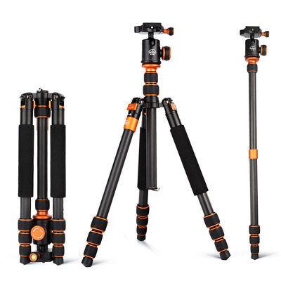 Portable Tripod SLR Camera Monopod Support Ball Head For DSLR Camera Nikon AU
