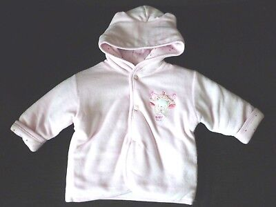 Baby  Girls Padded Hooded Jacket Coat 0-3 Months  nwt