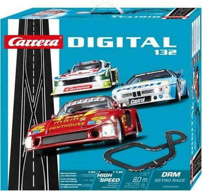 Carrera Digital 132, Start-Set 30002, 'DRM Retro Race' , Neu / OVP