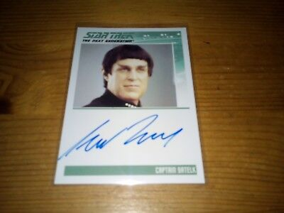 Star Trek The Complete Next Generation Series 2 Autograph Card Of Richard Fancy
