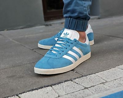 low priced fc29d 307a8 BNWB   Genuine Adidas Originals ® Gazelle Tactile Steel Trainers UK Size 8