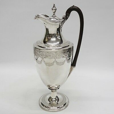 Georgian Silver Wine Ewer Made by HENRY CHAWNER London 1788. Stock ID 9162