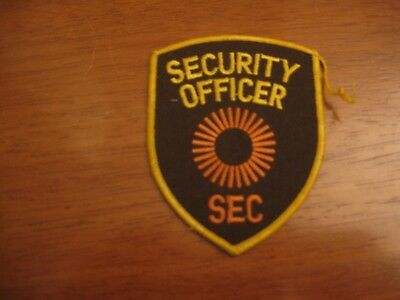 Obsolete SEC Security Officer patch