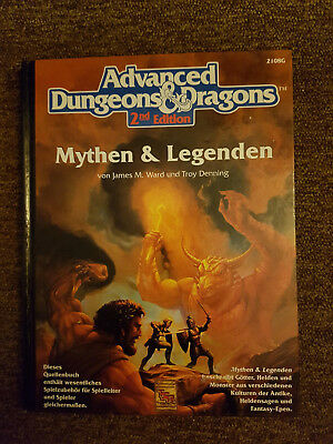 AD&D/Advanced Dungeons & Dragons / D&D -  Mythen&Legenden  - 2108G Deutsch TSR