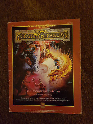 AD&D / Advanced Dungeons&Dragons - Forgotten Realms Die Wüstenreiche- TSR 9224G