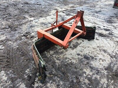 YARD SCRAPER 3 point link tractor loader bobcat