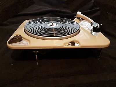 Thorens Td 134 Idler Drive Turntable - the little brother to the td 124