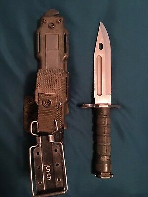 Phrobis Iii M9 Tactical Knife & Scabbard Usgi Usa Made Military Surplus