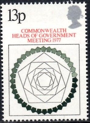 (Ref-12686) Great Britain 1977 Heads of Government Meeting SG.1038 Mint (MNH)