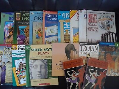 Huge lot of ancient Greece educational resources