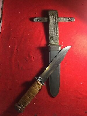 RARE KABAR WW2 WWII USN US NAVY MK2 Mark 2 UDT Fighting SEABEE Combat Knife NORD