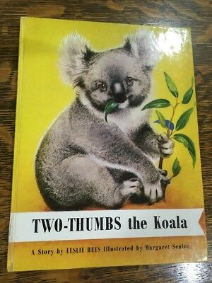 Two thumbs the Koala, Illustrated Children's Book by Leslie Rees
