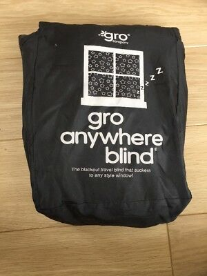 The Grow Company Gro Anywhere Portable/Holiday Blackout Blind - Adjustable