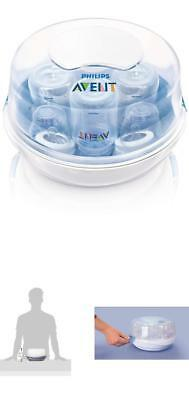 Philips Avent Portable Electric Steam Sterilizer Baby Infant Bottle Food Warmer