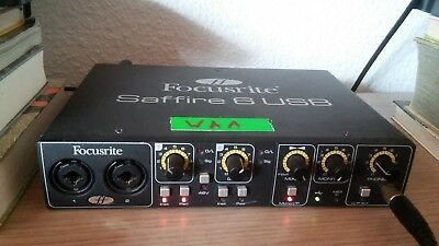 Focusrite Saffire 6 USB Interface 2In/4Out