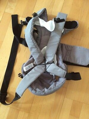 Mothercare 3 Position Baby Carrier Grey And Black With Box Used