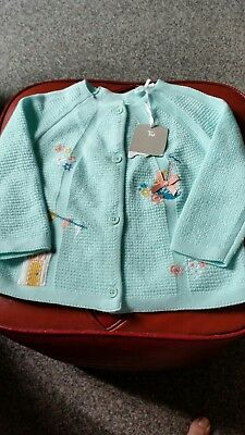 Baby girl cardigan 6-9 months from Tu