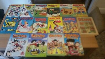 VINTAGE Comic ANNUALS. VARIOUS ISSUES/YEARS. JOB LOT. Rare Editions  👀