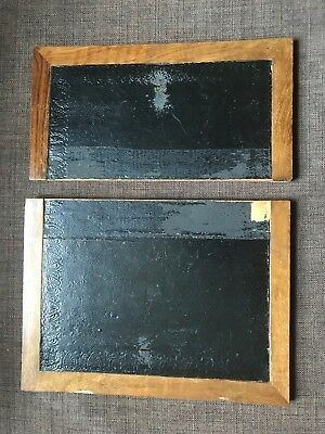 Pair of flaps for antique/vintage writing slope
