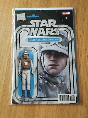 Star Wars Comic Issue 29 Action Figure Variant Cover Luke Skywalker Hoth