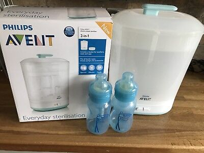philips avent electric 2 In 1 steriliser