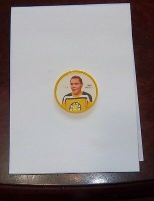 Shirriff coins Hockey 1960-61 Jimmy Bartlett # 113 Boston Bruins #BB