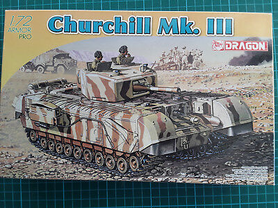 Dragon 1:72 Armor Pro 7396 Churchill Mk.III