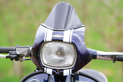 SLUK XL5 Lambretta GP screen - White