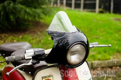 SLUK XL5 Lambretta Li Series 2/3 screen - Black