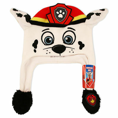 Nickelodeon Little Boys Paw Patrol Marshall Squeeze and Flap Fun Hat, Age 4-7