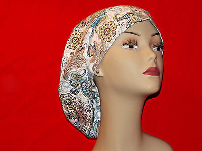 Surgery Cap Scrub Hat  Smaller Bouffant Women Surgical Medical European Handmade