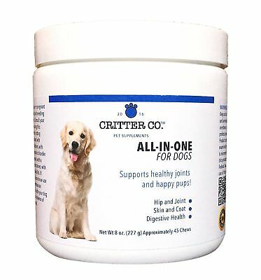 Multi-Benefit All-In-One Multivitamin for Dogs - Hip and Joint, Skin and Coat