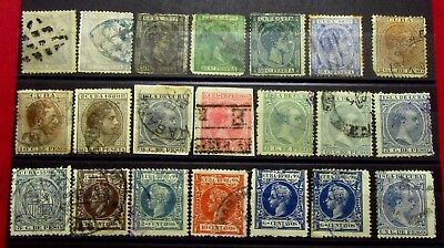 1CUBA Spanish Colonies Spain Old Stamps -  Used / Mint - r76e6728