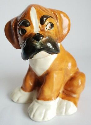 Vintage Melbaware 'Bengo the Boxer Dog' Figurine, From Bengo & Friends TV Series
