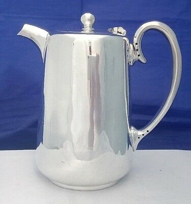 VTG Silver Plate Coffee or Hot Water Pot Hotel Ware by Butterfield of Bradford