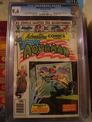 Adventure Comics #446 CGC 9.6 Aquaman Black Manta & Creeper WP Movie Soon JLA