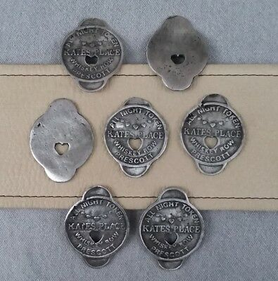 7 Brothel Tokens (Kates Place)