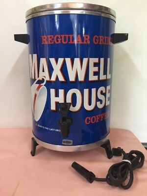 Excellent Vintage West Bend Maxwell House Percolator Coffee Maker Pot 30 cups