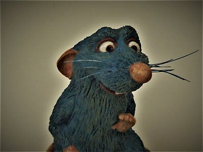 ratatouille disney  rat  resine figurine statue no sideshow cinema film