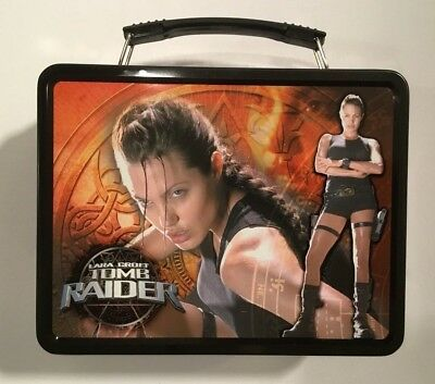 Lara Croft Tomb Raider Angelina Jolie  Metal Lunch box
