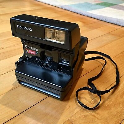 Polaroid OneStep Flash Instant Camera (boxed with one pack of film)